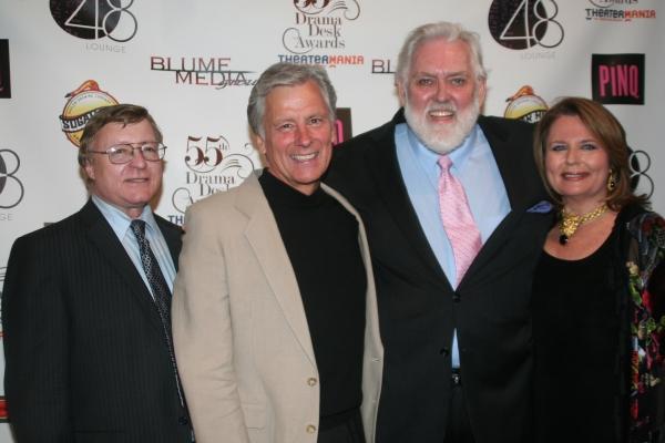 Edmund Gaymes, Kurt Peterson, Jim Brochu and Randie Levine-Miller Photo