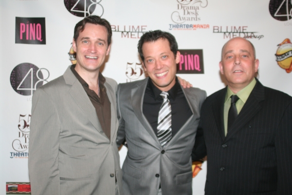 Michael Shawn Lewis, John Tartaglia and Philip Katz