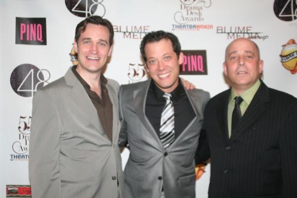 Michael Shawn Lewis, John Tartaglia and Philip Katz