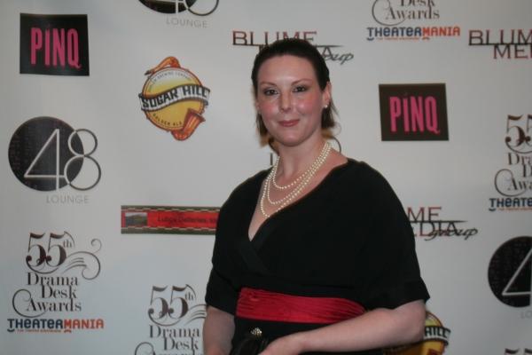 Kim Weild at 2010 Drama Desk Arrivals - Part 1