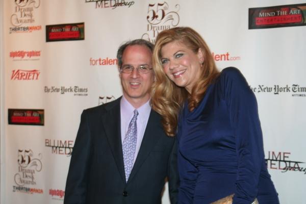 Jonathan Banks and Kristen Johnston