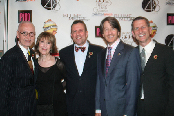 Craig Haffner, Lauren Stevens, David Siesko, Bradley Reynolds and Tom Kirdahy
