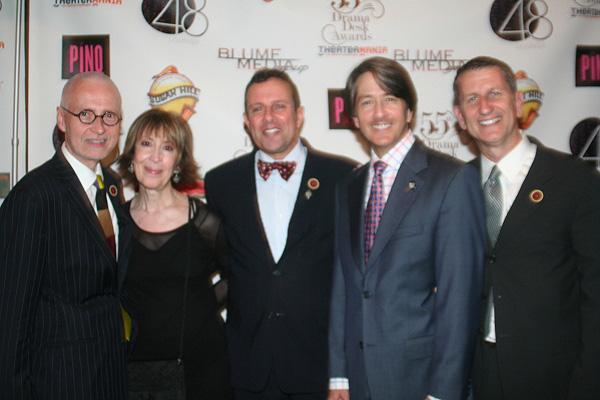 Craig Haffner, Lauren Stevens, David Siesko, Bradley Reynolds and Tom Kirdahy