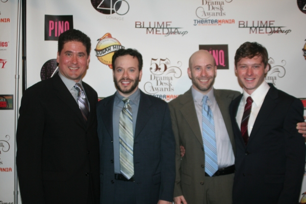 Igor Goldin, Joseph Zellnik, David Zellnik and Bobby Steggert