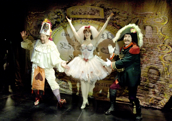 Shuler Hensley (The Baron), Kate Baldwin (Mizzi) & Herndon Lackey