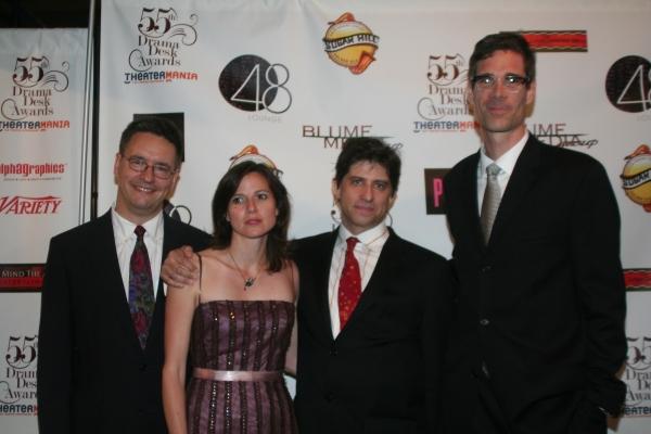 Greg Pliska, Drama Desk Awards guest, HEM Steve Curtis and HEM/Musician