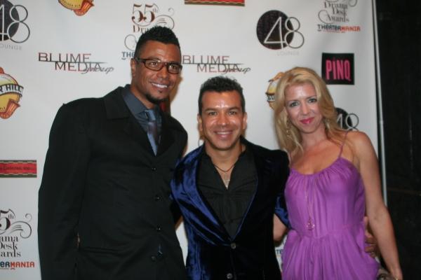 Edgar Godineaux, Sergio Trujillo and Kelly Devine