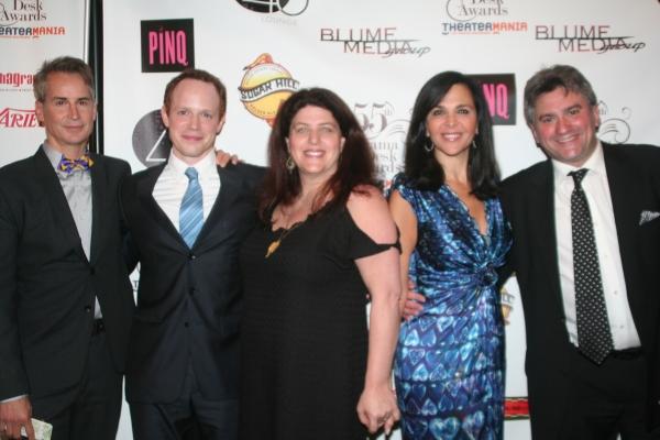 Geoffrey Nauffts, Sean Dugan, Sheryl Kaller, Barbara Manocherian and Anthony Barrile