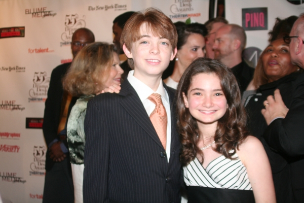 Dylan Riley Snyder and Emily Robinson Photo