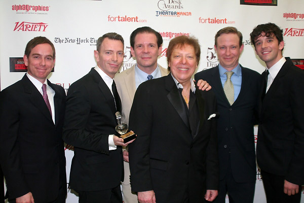 Sam Breslin Wright, Matthew Schneck, Thomas Jay Ryan, Robert R. Blume, Arnie Burton and Michael Urie