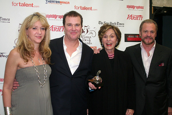 Sonia Friedman, Douglas Hodge, Fran Weissler and Barry Weissler
