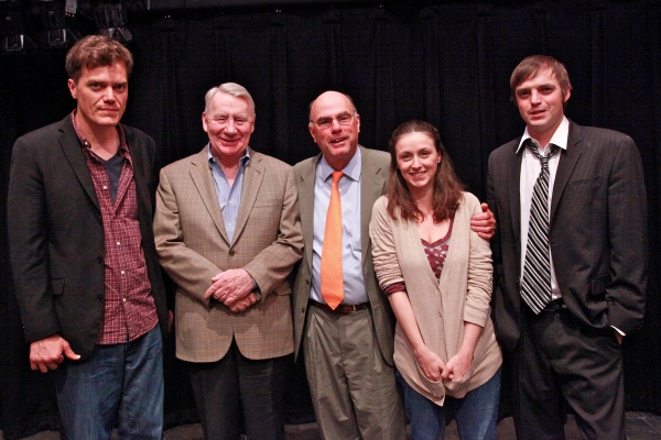 Michael Shannon, Robert MacNeil, Tappan Wilder, Jennifer Grace and James McMenamin