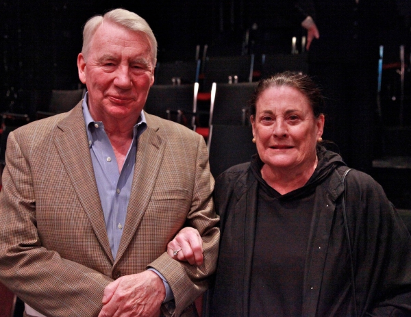 Photo Flash: Journalist Robert MacNeil Honored With Thornton Wilder Award