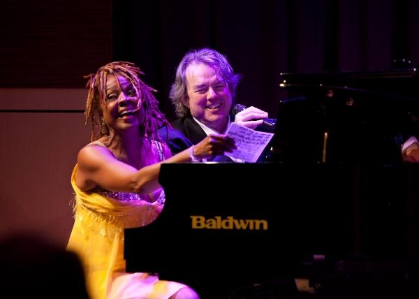Photo Flash: Webb & Houston At GRAMMY Museum Sound Stage