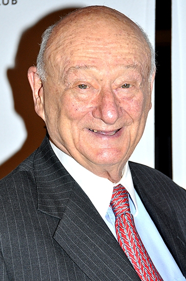 Ed Koch  at MTC & Bernadette Peters Honor Peter J. Solomon