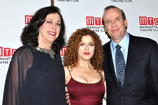 Photo Coverage: MTC & Bernadette Peters Honor Peter J. Solomon