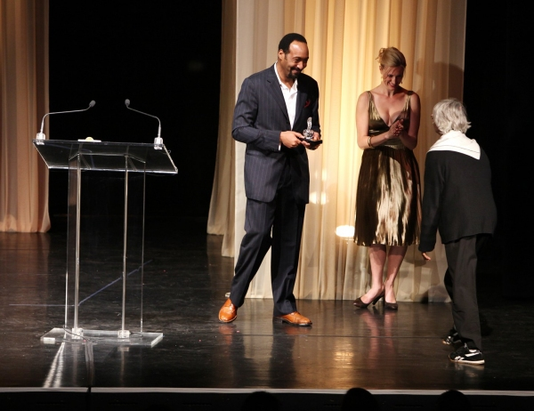 Jesse L. Martin and Twyla Tharp