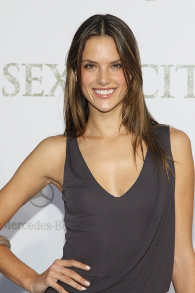 Alessandra Ambrosio  at Sex and the City 2 Premieres in NYC!