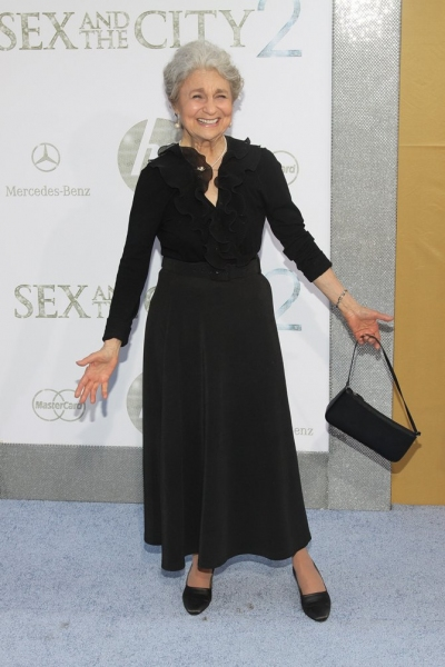 Lynn Cohen  at Sex and the City 2 Premieres in NYC!