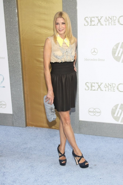Candace Bushnell  at Sex and the City 2 Premieres in NYC!
