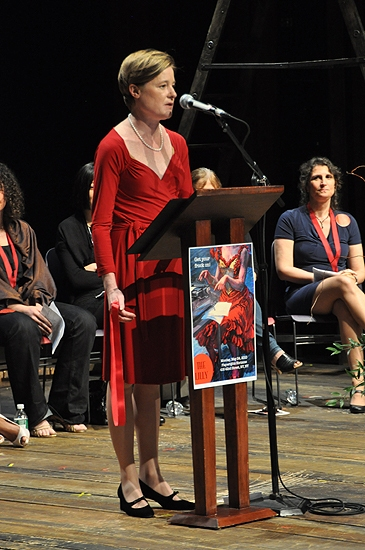 Julie Crosby  at 2010 Lilly Awards