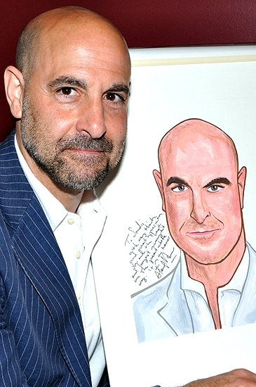 Photo Coverage: Sardi's Honors Stanley Tucci with Caricature