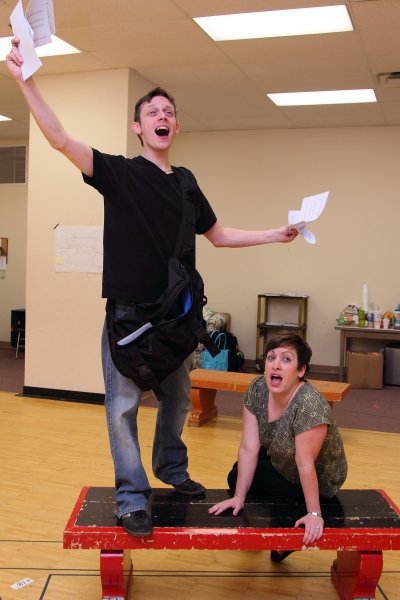 Photo Flash: The Human Race Brings ORDINARY DAYS To The Loft