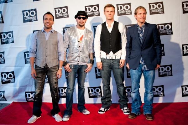 Backstreet Boys (Howie Dorough, A. J. McLean, Nick Carter and Brian Littrell) Photo