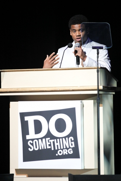 Tristan Wilds at DoSomething Awards