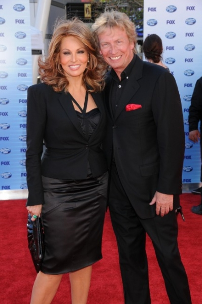 Raquel Welch and Nigel Lythgoe