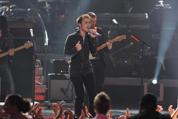 Season eight American Idol Kris Allen