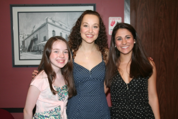Arin Edelstein, Rita Markova and Gianna Yanelli at FIDDLER ON THE ROOF Opens at Walnut Street Theatre