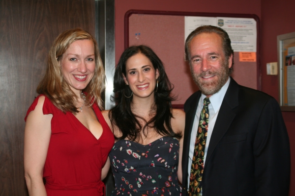 Julie Czarnecki, Jennifer Hallie Rosen (Diamond) and Mark Jacoby
