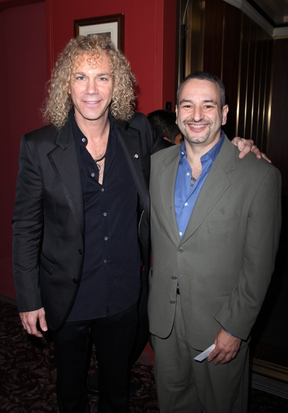 David Bryan and Joe DiPietro at 2010 Outer Critic's Circle Theatre Awards!