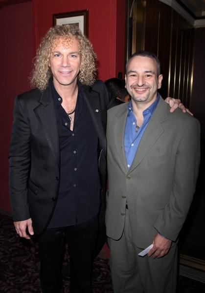 David Bryan and Joe DiPietro at 2010 Outer Critic's Circle Theatre Awards!