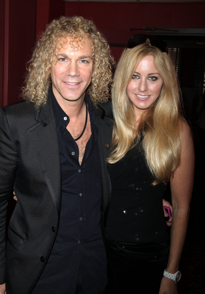 David Bryan and Guest at 2010 Outer Critic's Circle Theatre Awards!