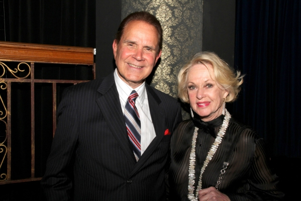 Rich Little and Tippi Hedren