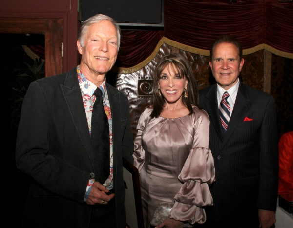 Richard Chamberlain, Kate Linder, and Rich Little