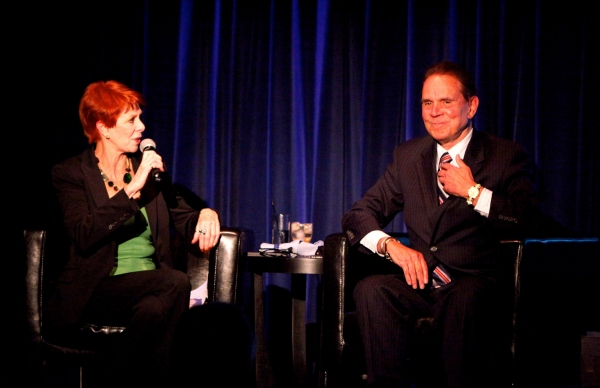 Karen Cadle and Rich Little at Rich Little at Magic Castle
