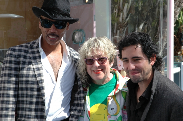 RuPaul, Allee Willis and John Lloyd Young
