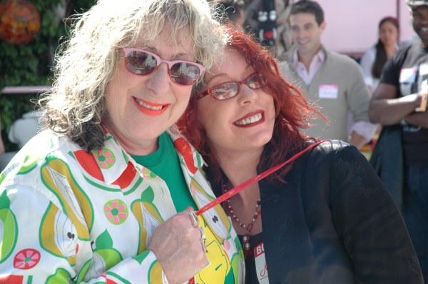 Allee Willis and Pamela Des Barres