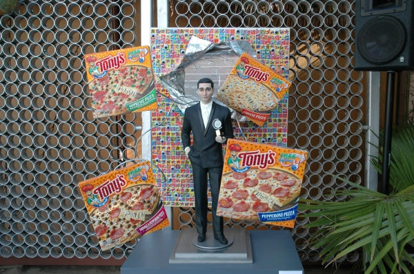 Photo Flash: FOOD FOR THOUGHT John Lloyd Young Artwork Exhibition