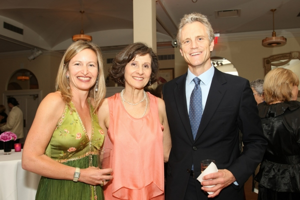 Honors underwriter Bethany Millard, with Kaufman Center's Executive Director Lydia Kontos and Honoree John Sykes