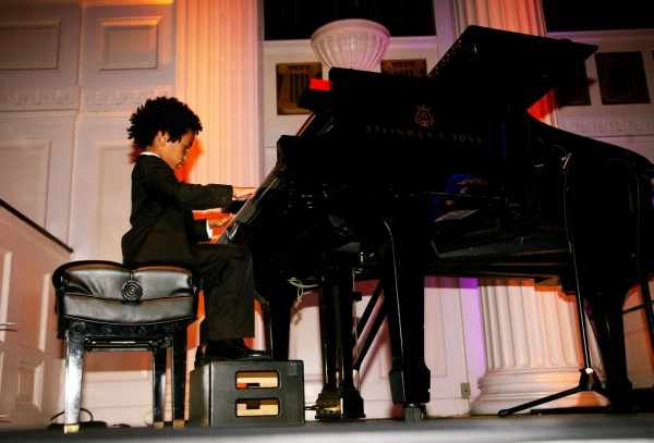 Kaufman Center's Special Music School Student Alex Adou