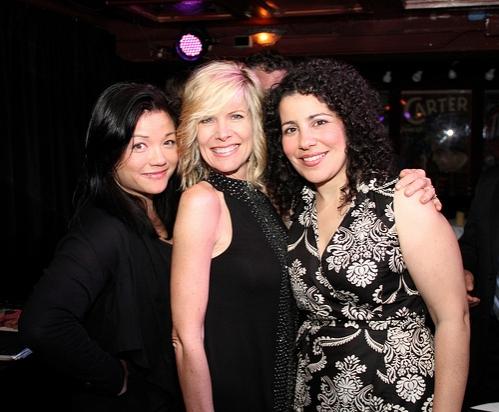 Erin Quill, Debby Boone, and Julie Garnye