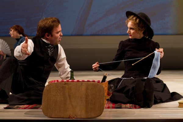 Darren Michael Hengst as Franz and Maggie Lakis as Frieda