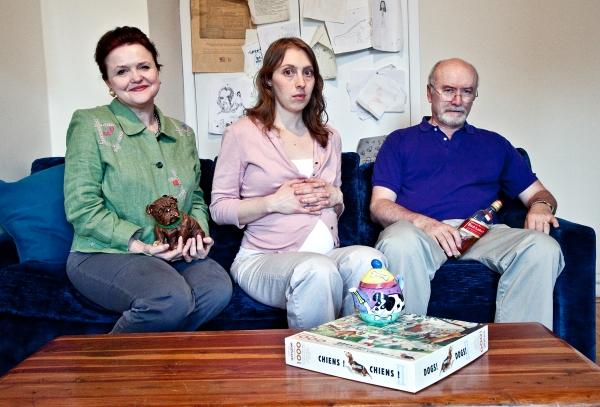 Charlotte Booker (Dorothy), Crystal Finn (Katie), and Edward James Hyland (Hugh) Photo