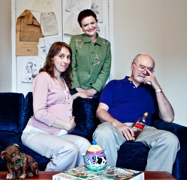 Crystal Finn (Katie), Charlotte Booker (Dorothy), and Edward James Hyland (Hugh) Photo