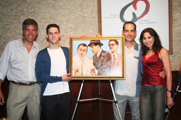 Photo Coverage: Tony's di Napoli Honors LEND ME A TENOR on Portait Wall of Fame
