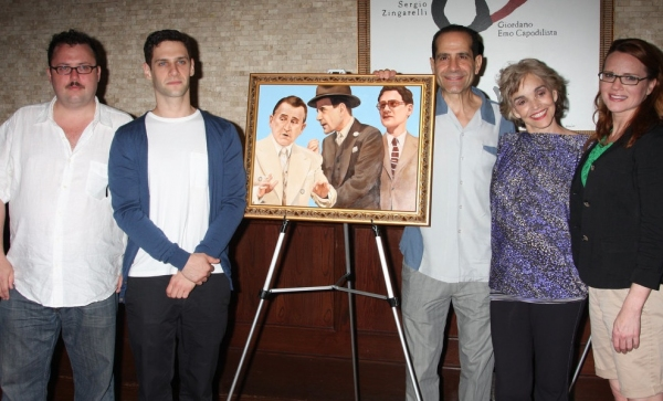 Jay Klaitz, Justin Bartha, Tony Shalhoub, Brooke Adams and Jennifer Laura Thompson